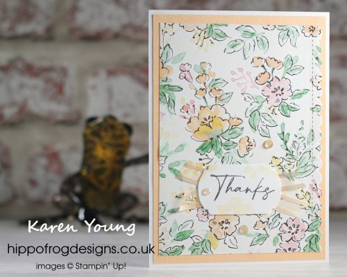 Hand-Penned Customer Thank You Cards. Project designed by Karen at HIPPOFROG Designs