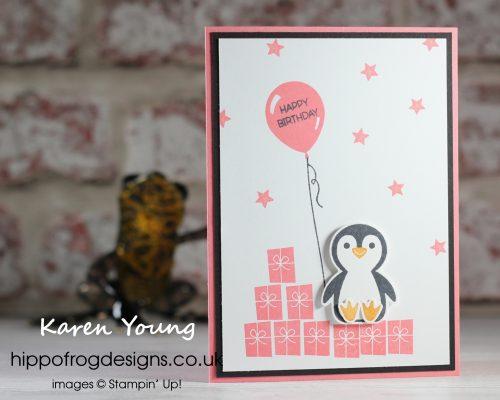 Penguin Place Bundle. Project designed by Karen at HIPPOFROG Designs