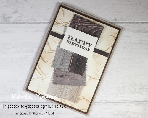 Postage Stamp and Textures In Good Taste. Project designed by Karen at HIPPOFROG Designs