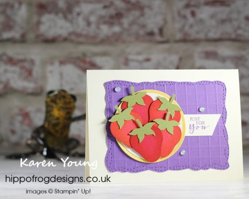 Inspired by Wimbledon 2021. Project designed by Karen at HIPPOFROG Designs