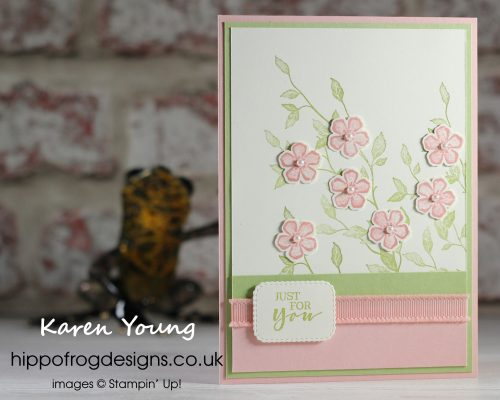 Top Tips, Tricks & Techniques: Making Your Punching More Efficient. Project designed by Karen at HIPPOFROG Designs