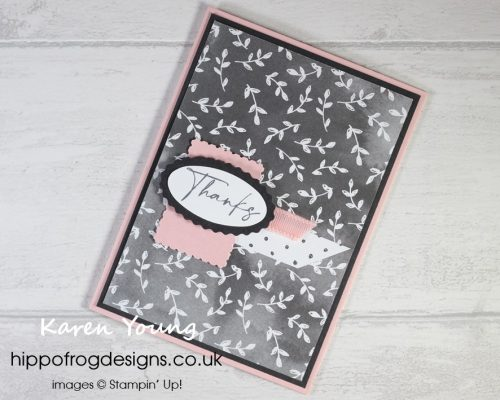Beautifully Penned Customer Thank You Cards. Project designed by Karen at HIPPOFROG Designs
