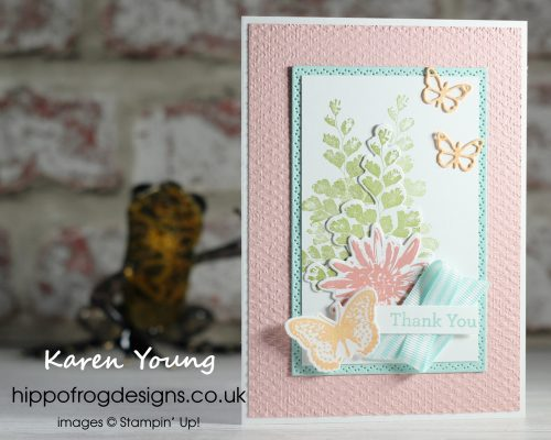 Pretty as a Positive Thoughts Collage. Project designed by Karen at HIPPOFROG Designs