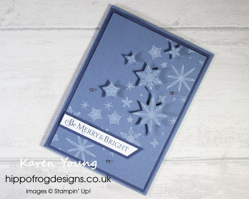 Countdown to Christmas 2021 #1. Project designed by Karen at HIPPOFROG Designs