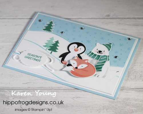 Countdown to Christmas 2021 #3. Project designed by Karen at HIPPOFROG Designs