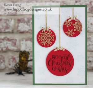 Stampin' Up with HIPPOFROG Designs - Watercolor Christmas